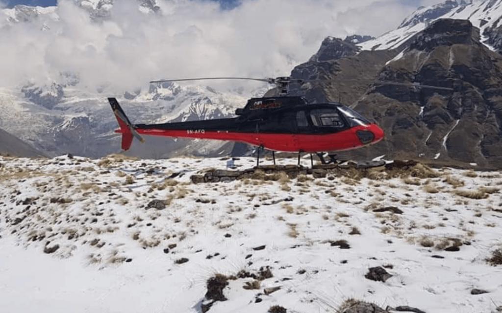 Annapurna Base Camp Heli Trek