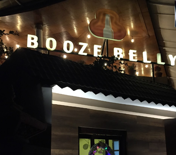 booze belly